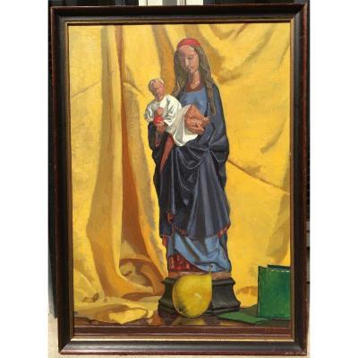 ROUART Philippe - Vierge Poupée De Malines