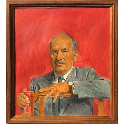 SUTHERLAND Graham - Portrait Du Dr. Árpád Plesch