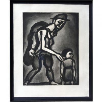 Rouault Georges - Take Refuge In Your Heart, Barefoot From Woe