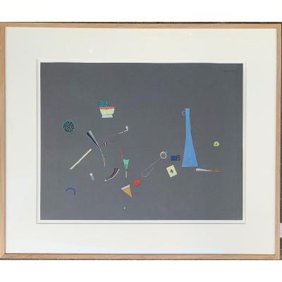 DE CASTRO Sergio - Constellation Au Vase Bleu