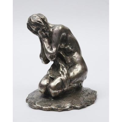 """Denys PUECH (1854-1942) - """"Héro pleurant Léandre"""""""