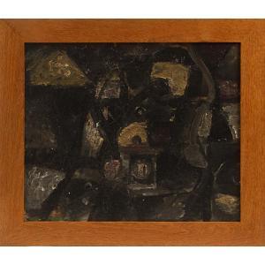 "Stacha HALPERN (1919-1969) -  ""Composition Abstraite"""