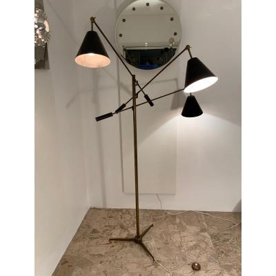 Lampadaire Triennale par Angelo Lelli