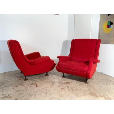 Paire de fauteuils Regent par Marco Zanuso