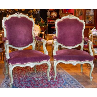Pairs Of Venetian Armchairs Early Nineteenth