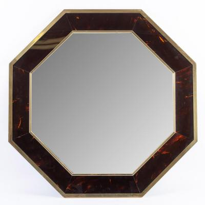 Miroir octogonal années 1960
