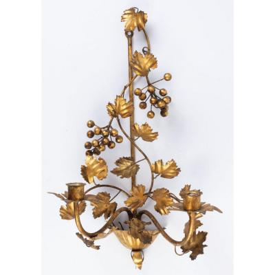 One Bracket Grapevine Flor Art 1960