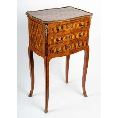 table chiffonnière Louis XV estampillée