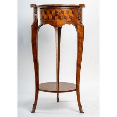 Petite Table Style transition (Louis XV /Louis XVI )