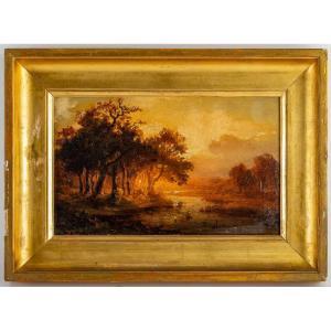 Paysage d'Automne XIXème siècle