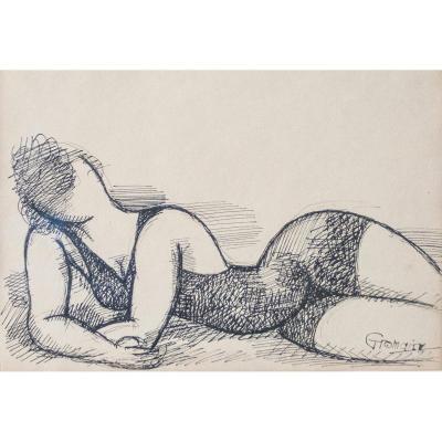 Marcel Gromaire (1892 - 1971) Nouvelle école de Paris