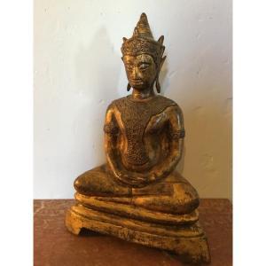 Bouddha en Bronze Doré Thaïlande