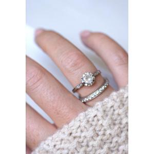 Bague Solitaire Art Deco Diamant 0.50 Ct