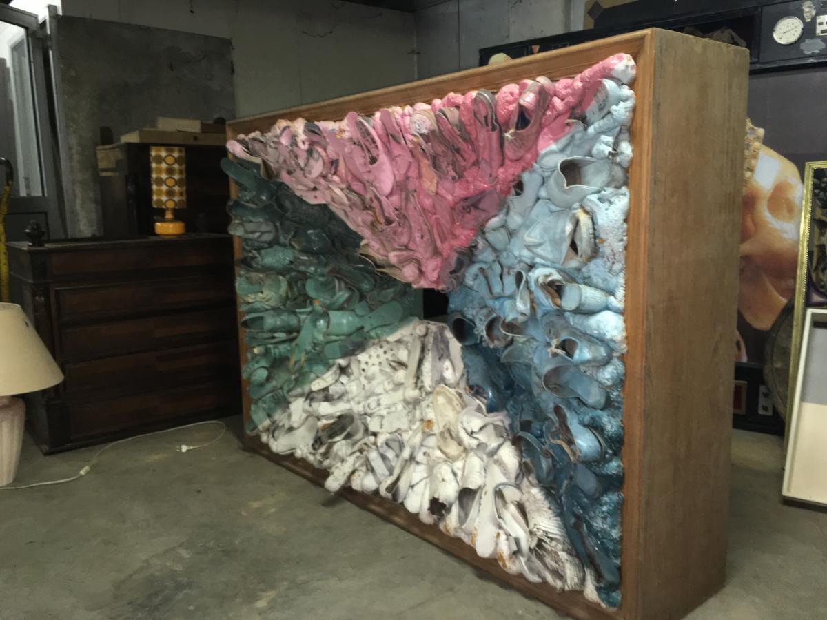 Ben Jakober Sculpture De Chaussures Design