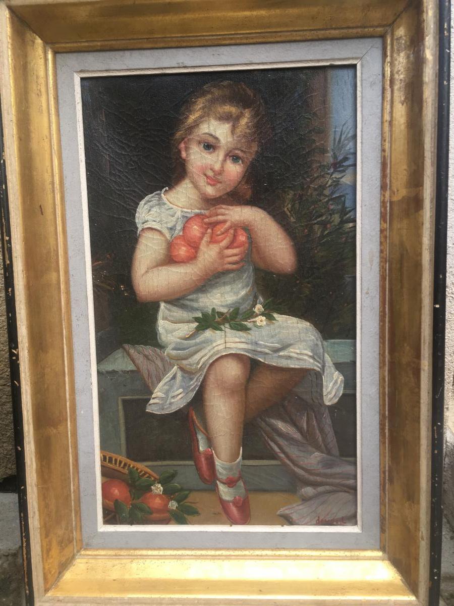 Léon Devos Painter Painting Young Girl Belgian Painter Belgium