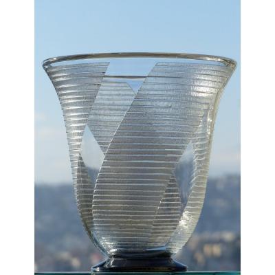 Daum Nancy Art Deco Vase 1930