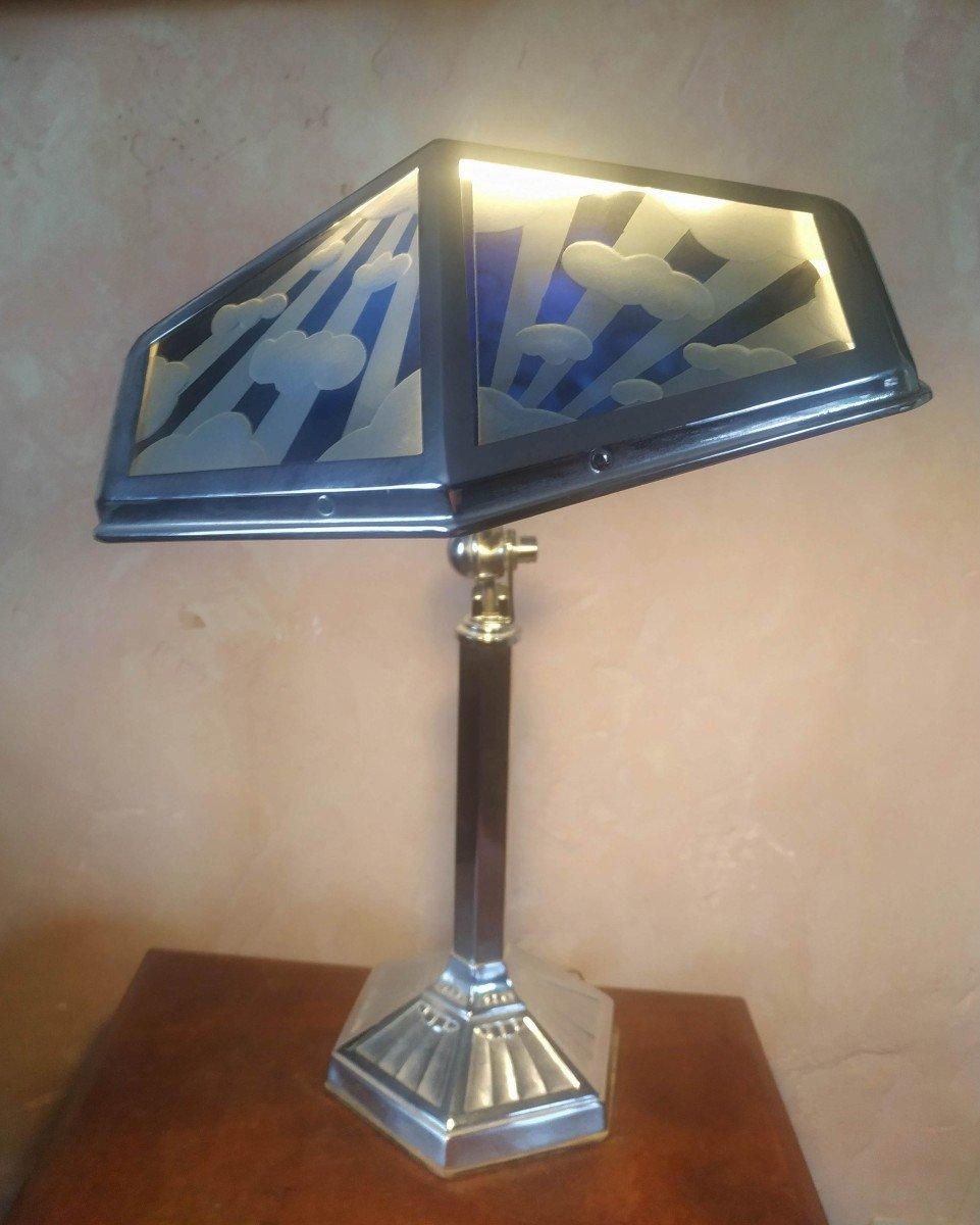 Lampe Pirouette vers 1920