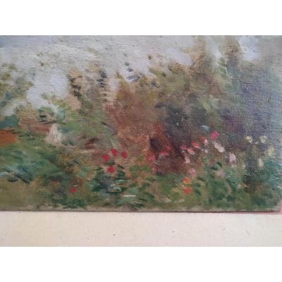 Paysage Par Henri Dreyfus Lemaitre
