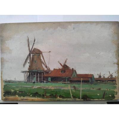 Les Moulins hollandais