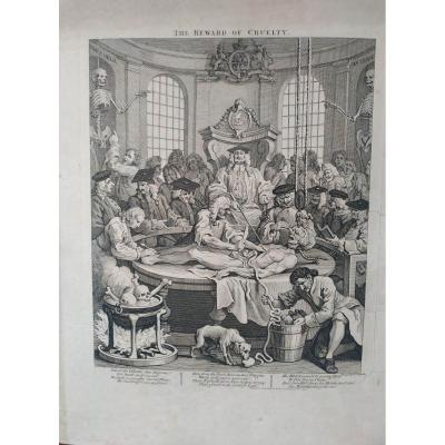 Gravure Par William Hogarth En 1751.