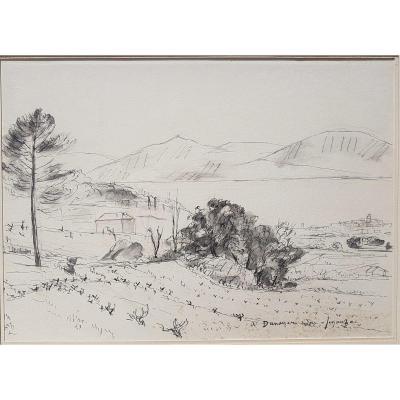 André Dunoyer De Segonzac (1884-1974) The Gulf Of Saint-tropez