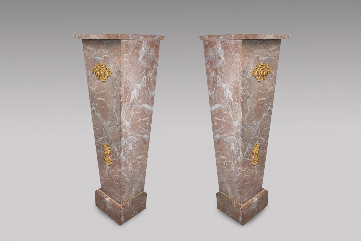 Red Marble Sheaths Of Decoration-photo-2