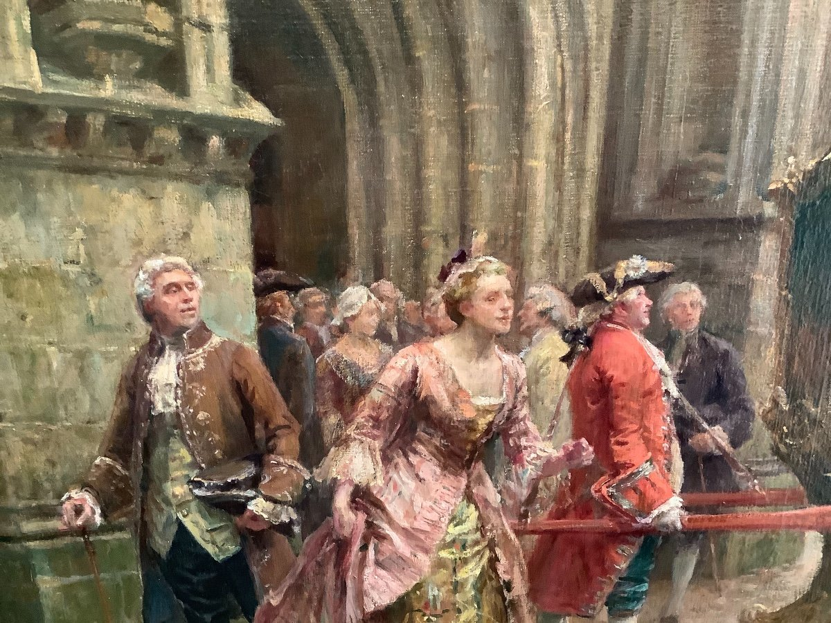 Painting By Émile Boutigny -photo-2