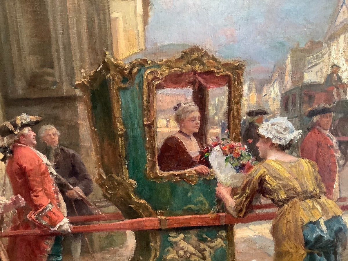 Painting By Émile Boutigny -photo-4