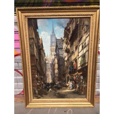 Rue Sainte Catherine à Rouen