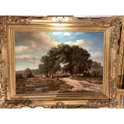 Tableau Par G. Pieron peintre du début du 19 eme siècle