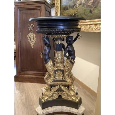 Surtout De Table En Bronze Doré