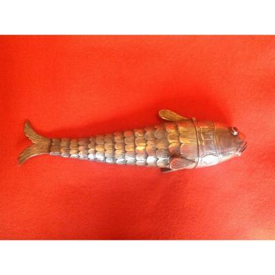XIXth Century Articulated Fish