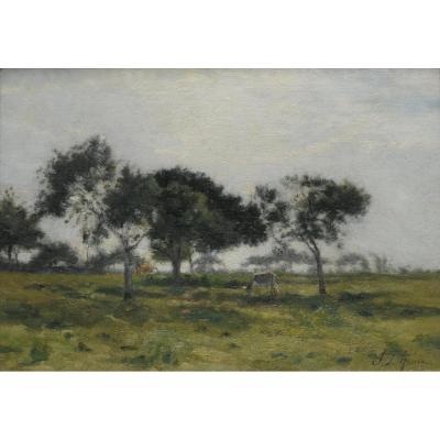 Stanislas Lépine, Huile Sur Toile