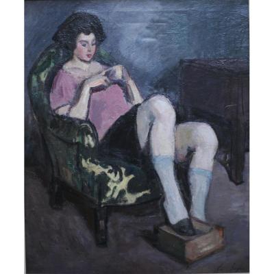 Edouard Saglio - Peinture