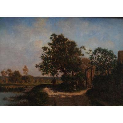 Ernest Guillemer - Paysage