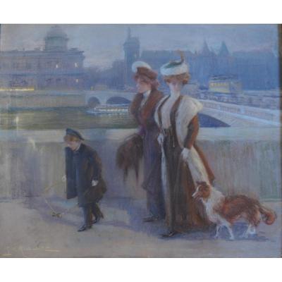 Georges Michelet - Pastel