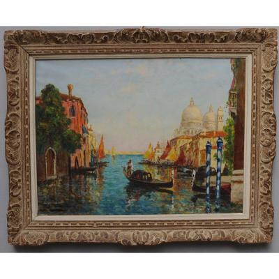 Charles Cousin - View Of Venice