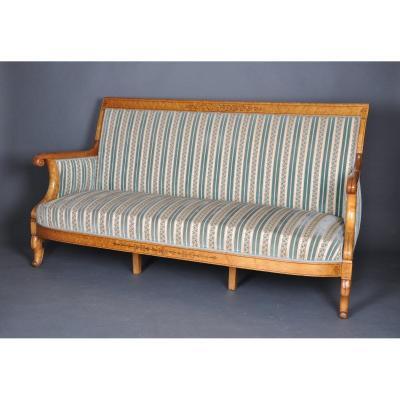 Canapé d'époque Charles X estampillé