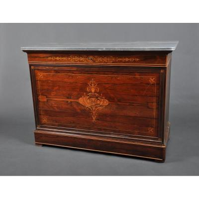 Chest Of Drawers Charles X Rosewood.