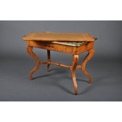 Charles X Period Coffee Table In Ash.