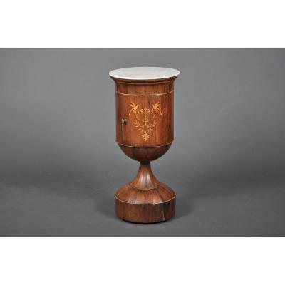 Bedside Somno Egg Cup Charles X Period In Rosewood.
