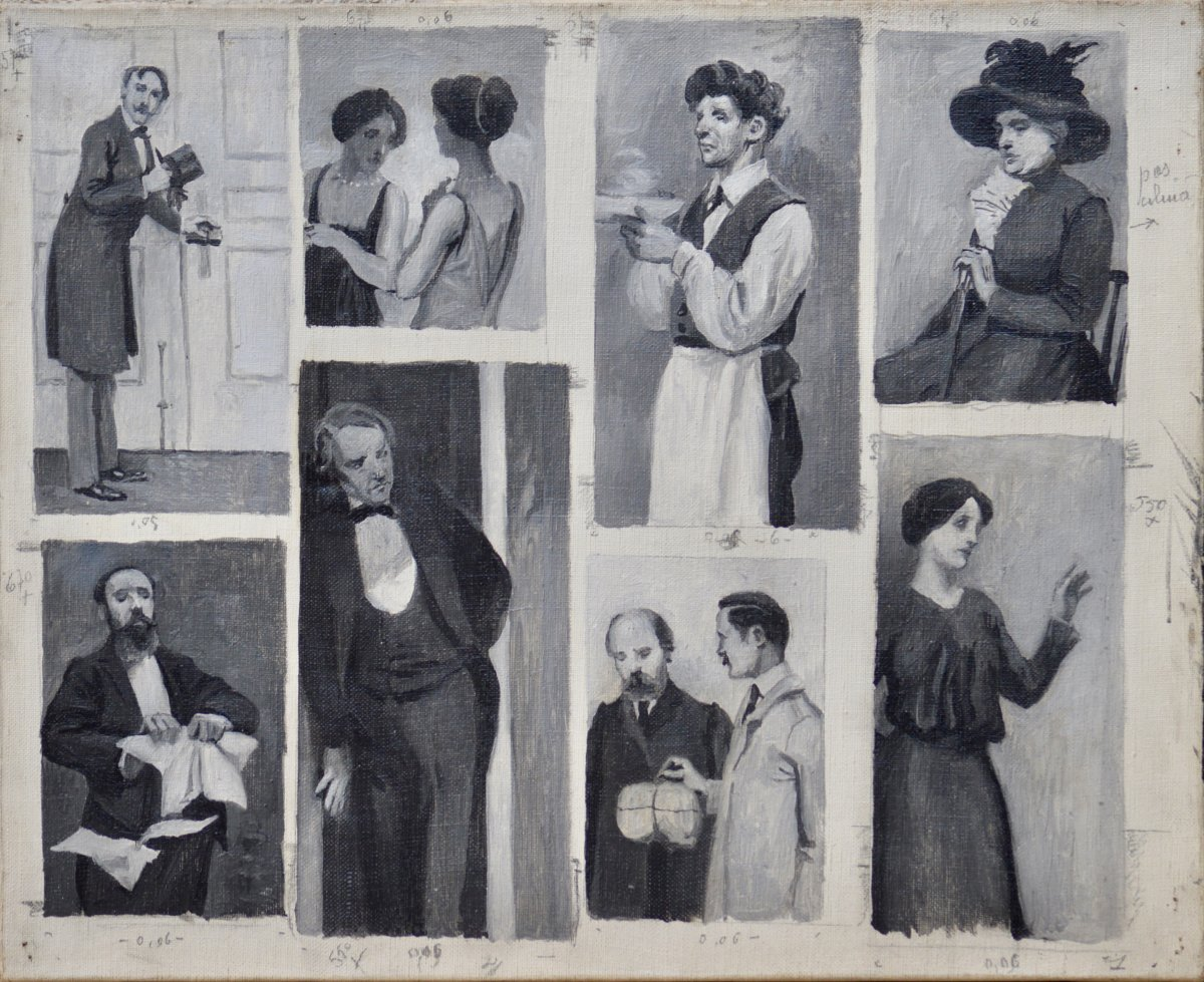 """Serafino Macchiati 1860-1916. """"illustration Project."""""""