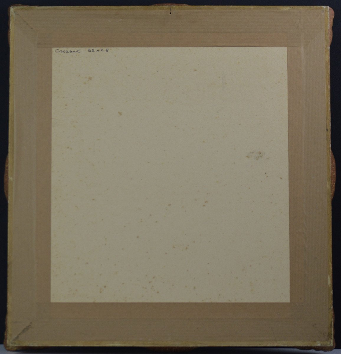 "Jean-adrien Mercier 1899-1995. ""landscape At Crozant.""-photo-1"