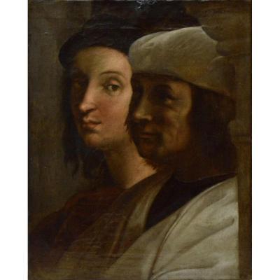 """""""Raphaël et le Sodoma."""" XIXe siècle."""