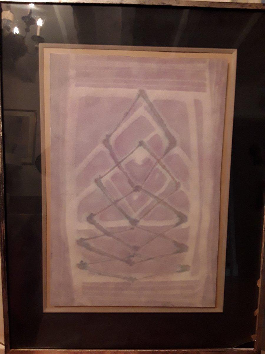 Pfeiffer Henri  Composition Abstraite 1927