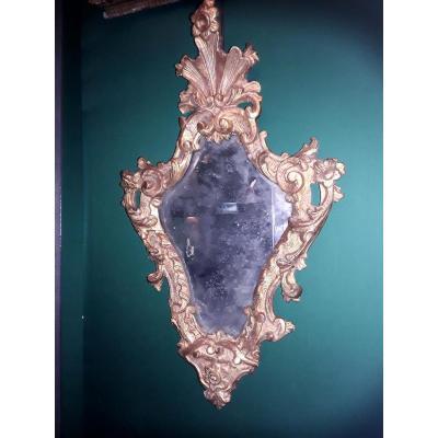 Miroir  Italie époque 18e siecle