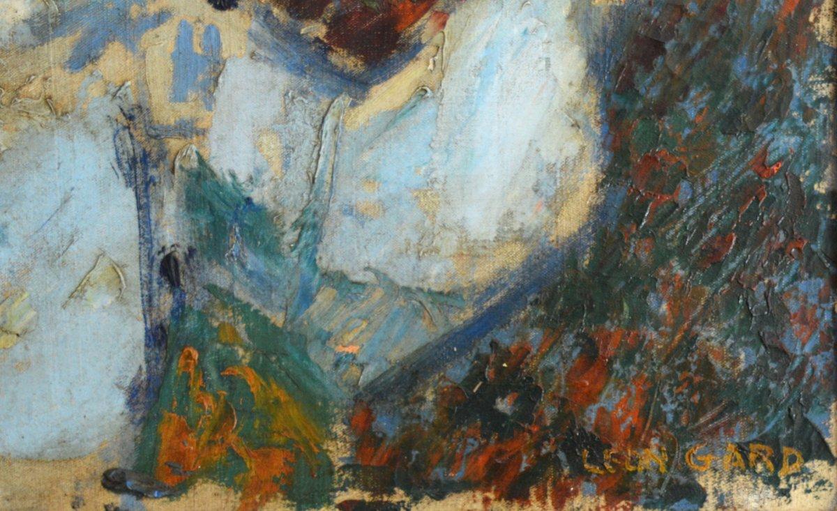 """GARD Léon (1901-1979) """"La valse de Brahms - Portrait de Janine ANDRADE"""" Paris Violoniste Japon Vivaldi Beethoven-photo-1"""