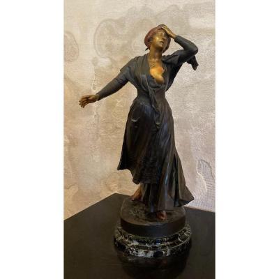 "MERCIE Antonin (1845-1916) "" Mireille "" Arlésienne Provence Félibre Mistral Arles Paris Crau"