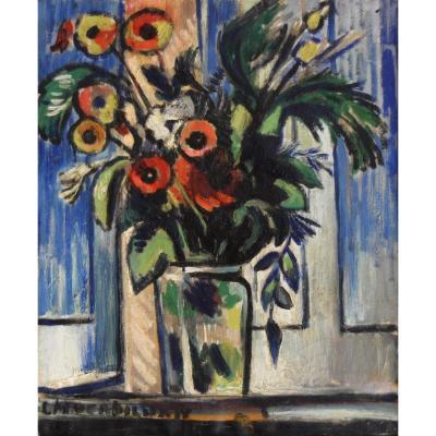"""VERDILHAN Louis-Mathieu (1875-1928)""""Bouquet de fleurs"""" Marseille Provence Marquet Chabaud Paris Fauvisme Fauve Allaauch"""