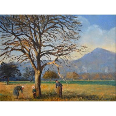 "Pissarro Paul-emile (1884-1972) ""animated Landscape Of The Suisse Normande"" Clécy Normandie Paris Orne Calvados"
